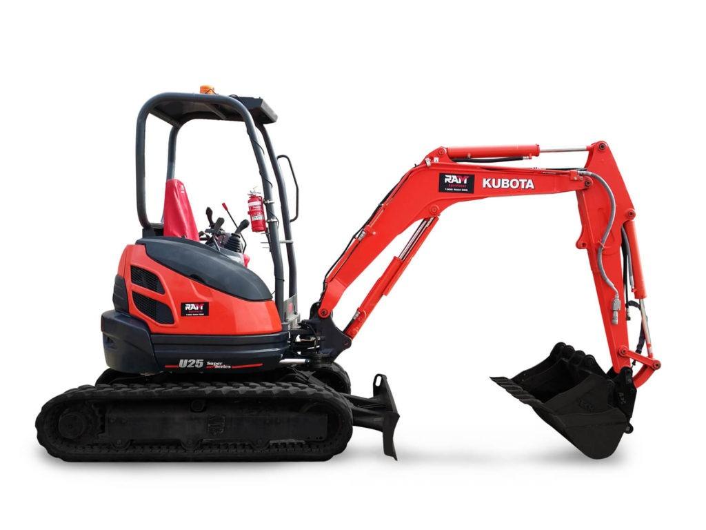 Kubota 2.5 Tonne Excavator