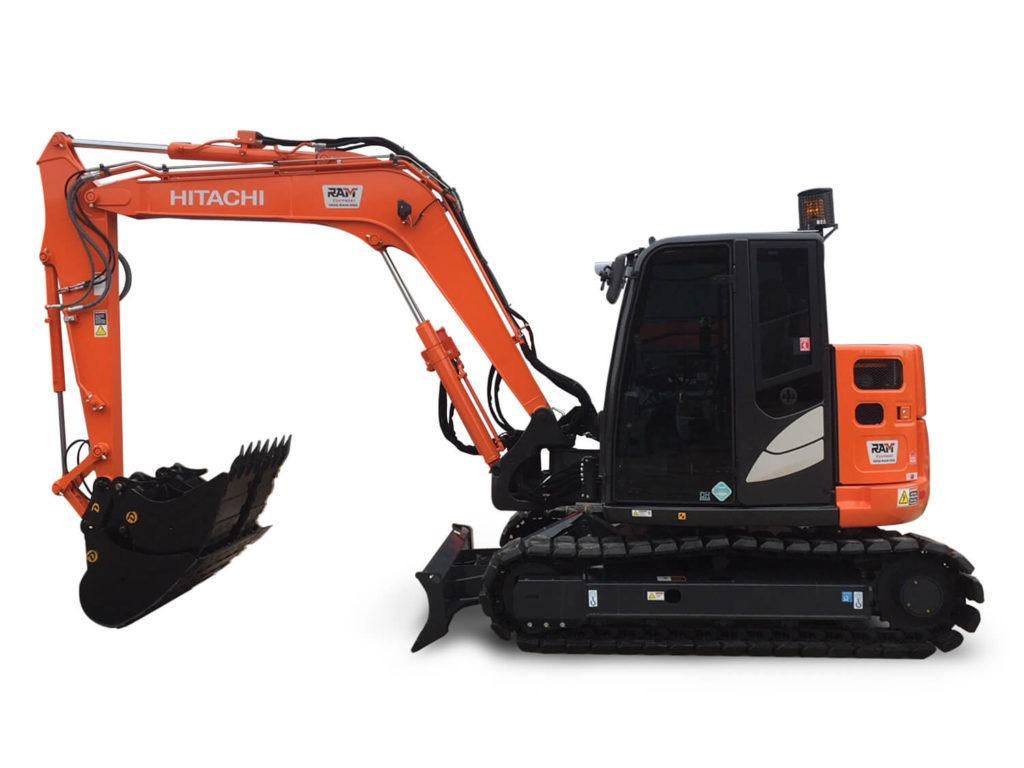 Hitachi 8.5 Tonne Excavator