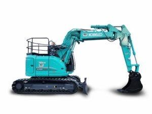 Kobelco 13.5 tonne excavator SK135-5 on White BG