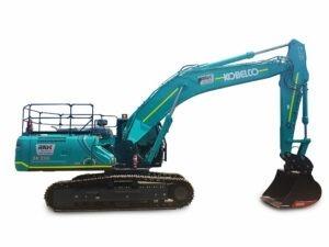 Kobelco 35 tonne excavator SK330 on White BG