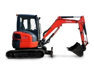 Kubota 3.5 Tonne Excavator
