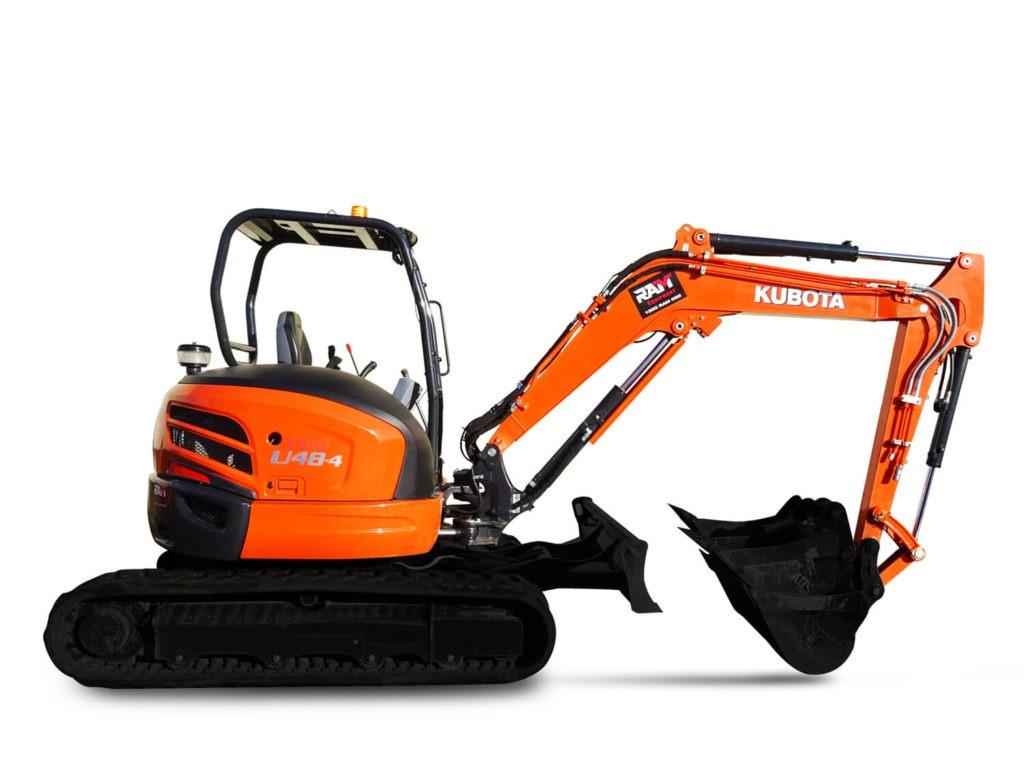 Kubota 4.8 Tonne Excavator