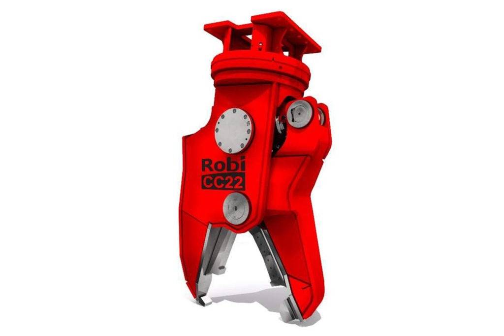 ROBI Cutter Crusher attachment on white background