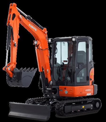 Kubota 3 tonne excavator