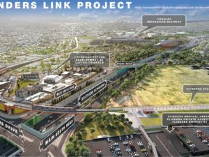 flinders link project render image