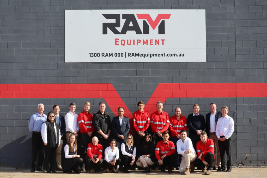 RAM Equipment group photo - About us