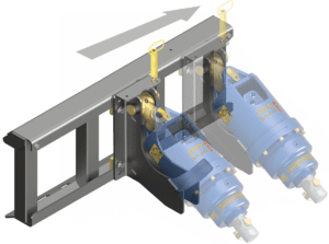 Auger Torque Mounting Frames