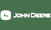 John Deere logo white