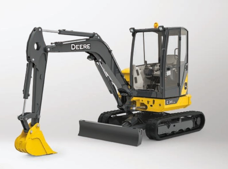 John Deere E36ZS Excavators