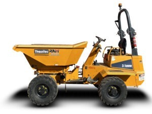 Thwaites 3 tonne site dumper